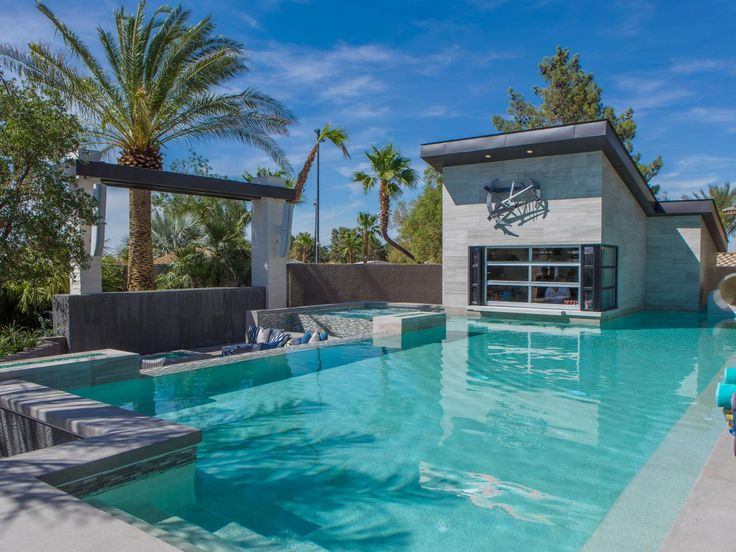 12 Crazy Outdoor Extras at the Property Brothers' Las Vegas Home | Property Brothers at Home | HGTV