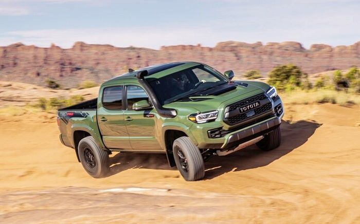 2020 Toyota Tacoma Trd Pro Release Date Canada Criticizing The Toyota Tacoma Is Like Yelling At The Thu Toyota Tacoma Toyota Tacoma Trd Pro Toyota Tacoma Trd