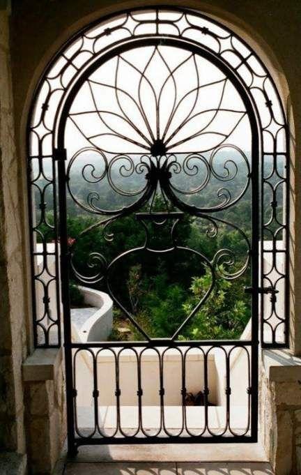 Trendy Grill Door Design Wrought Iron Garden Gates 22 Ideas