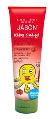 Jason Kids Toothpaste Strawberry - 4.2 Oz - contains benzyl alcohol and sodium lauroyl sarcosinate (low concerns per GoodGuide)