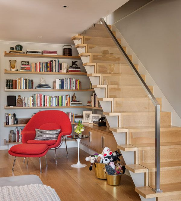 Sleek stairs & great use of space | Through a modernist's eye – John K. Anderson