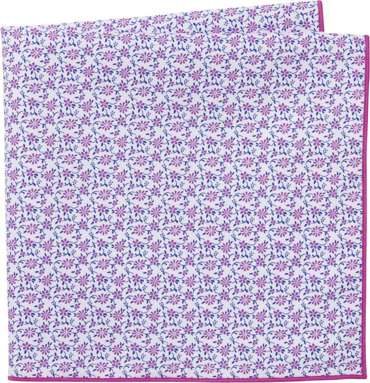 Jos. A. Bank Floral Pocket Square
