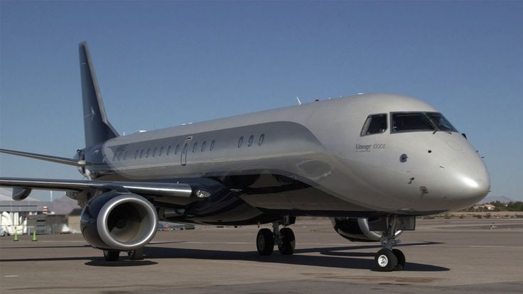 Spotlight on the Embraer Lineage 1000E Business Jet