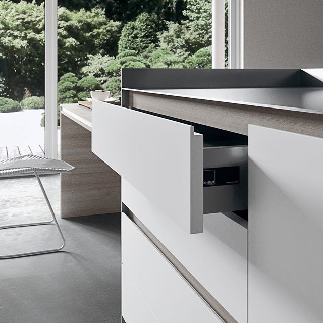 The Luxury Of Simplicity. Simply Beautiful. #arrital #kitchen #madeinItaly # Cucina