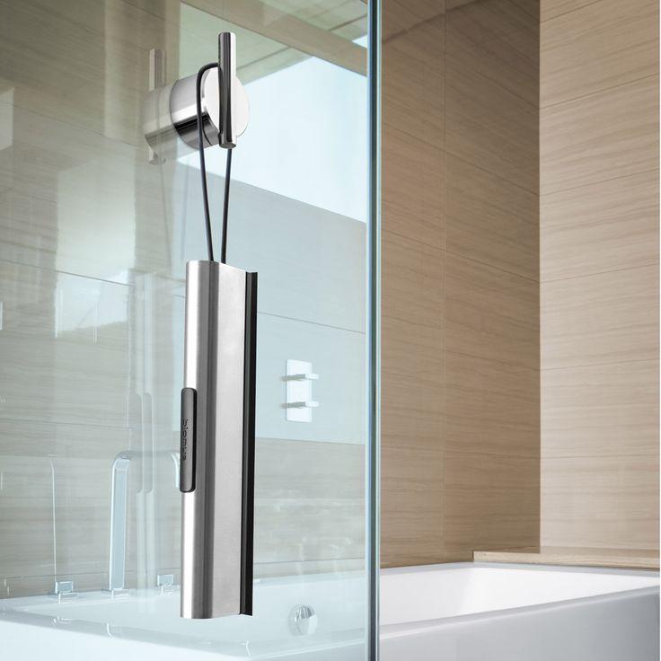 Modern Bathroom Blomus Vianto Shower Squeegee - Stainless steel | Zuri Furniture