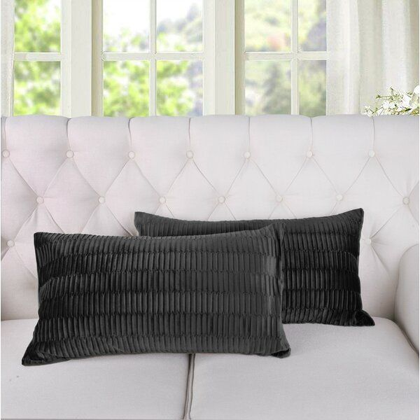 Giuliano Pleated Lumbar Pillow Cover Lumbar Pillow Cover Pillow