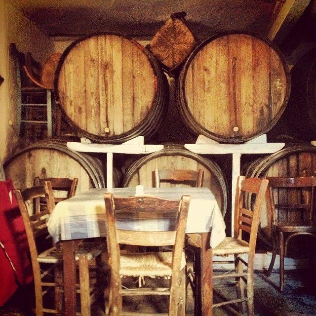 Greece: Inside an old traditional tavern #solebike #e-bike #sightseeing