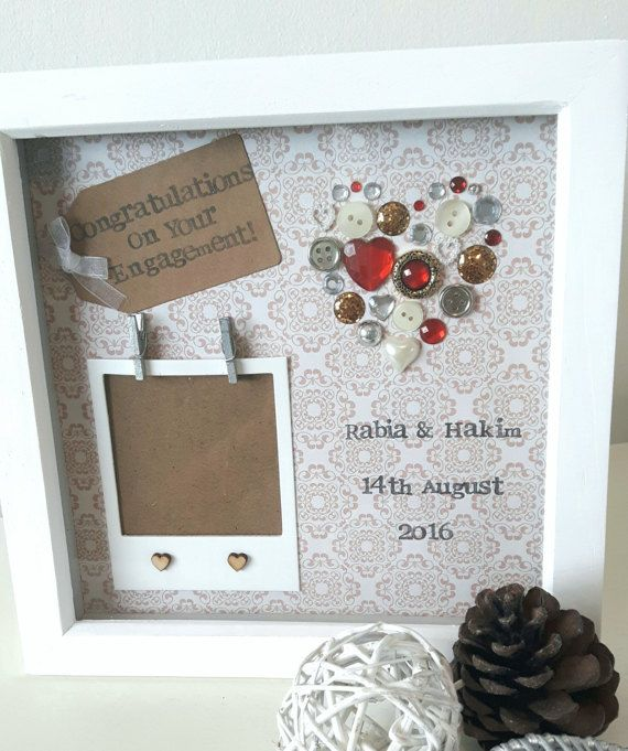 engagement gift personalised scrabble frame gifts for couples present for engagement congratulations on engagement embellished frame