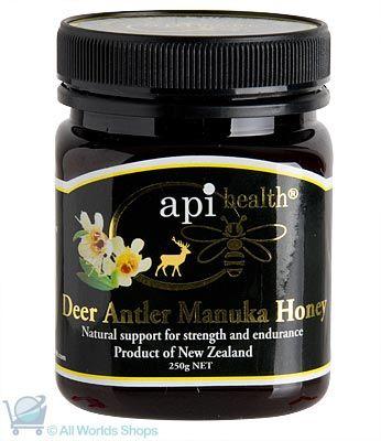 Deer Antler Extract and Manuka Honey - Api Health - 250gms | Shop New Zealand