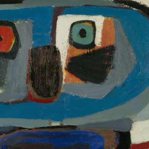 L' homme carré, Karel Appel, 1951 - Karel Appel - Kunstenaars - Ontdek de collectie - Rijksmuseum