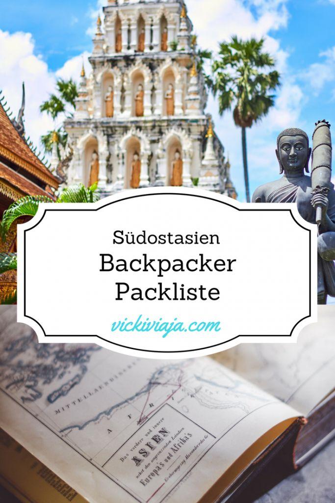 Die ultimative Backpacker Packliste für Südostasien für SIE I Alles dabei, nur mit Handgepäck I Alles dabei haben, aber nicht zu viel I Was muss alles mit I Was sollte zuhause bleiben I + Packliste zum Herunterladen und Ausdrucken I #Packliste #Südostasien
