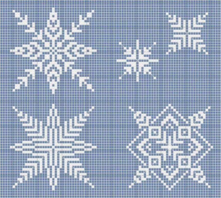 Assez Oltre 25 idee originali per Fiocchi di neve su Pinterest | Fiocchi  VG42