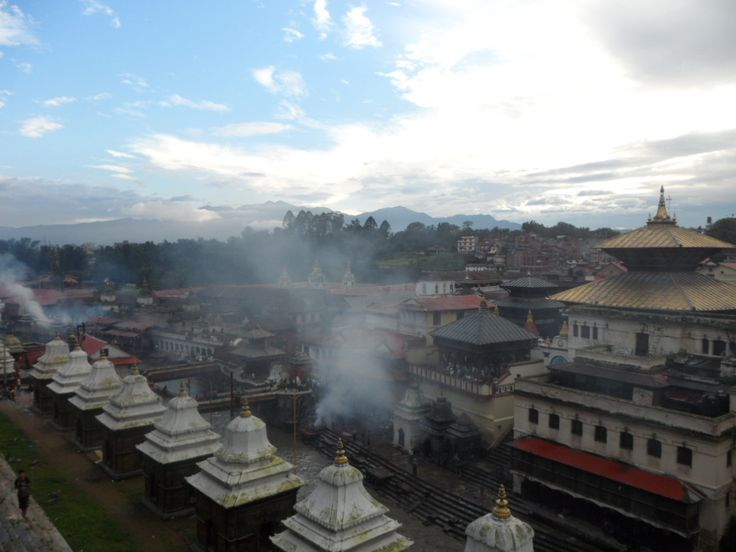 Pashupatinath, very important cremation place for Hindus