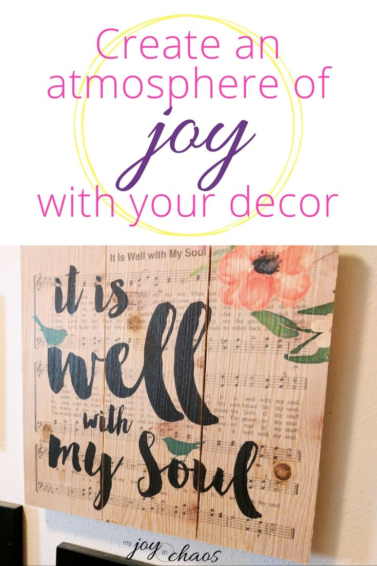 Chooose home decor that points you to the source of joy - Jesus   wall decor   home decor   interior decorating   wall planks   DaySpring Sale   gallery wall