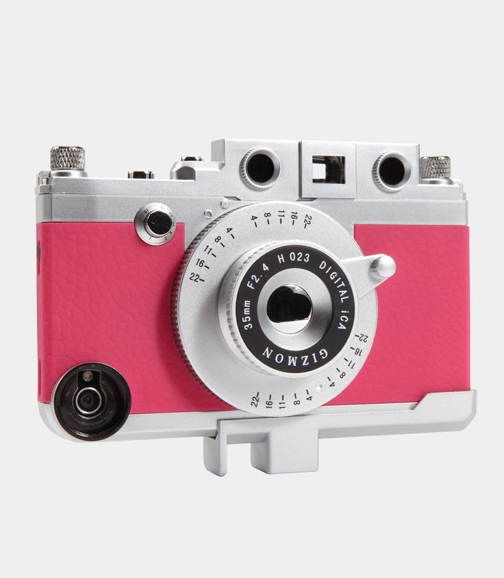 169 best iphone mafia images on pinterest mafia phone gizmon deluxe ica iphone case looks like a vintage camera but its a case for sciox Gallery