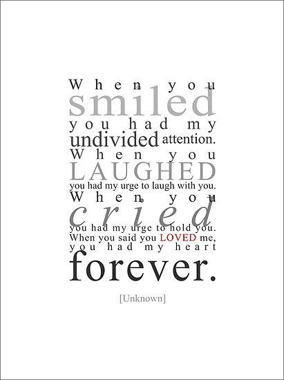I guess I am just an old romantic at heart...but this has to put a smile on every heart that reads it!