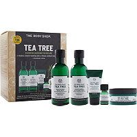 The Body Shop - Online Only Tea Tree Anti-Blemish Deluxe Kit in  #ultabeauty