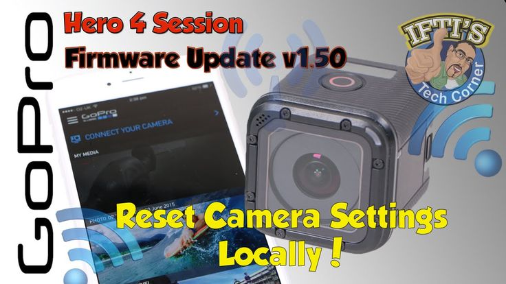 Change Settings Directly on the GoPro Hero 4 Session! - GUIDE