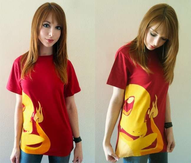 Must have Pokemon clothes! Especially this charmander top :D