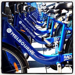 Hire a bike in Melbourne!