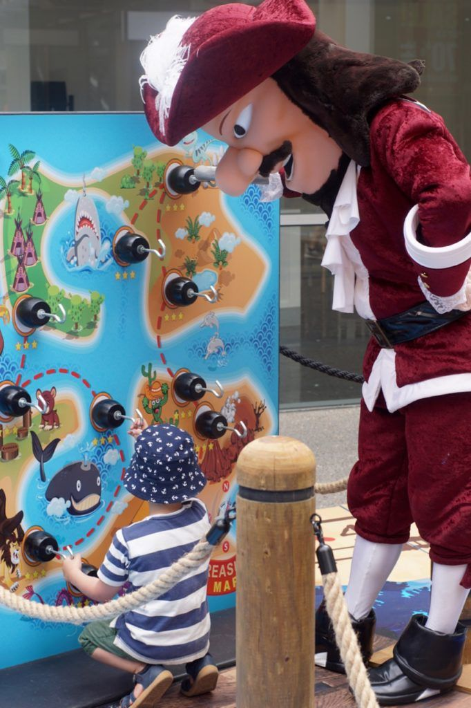 HOT: Summer Pirate Playground, Harbour Town Melbourne, 440 Docklands Drive, Docklands http://tothotornot.com/2017/01/pirate-playground-harbour-town-docklands/