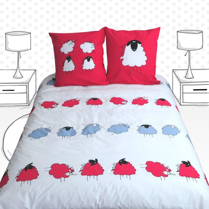 14 best linge de lit fille girl bed linen images on pinterest bedding linens and bed linens. Black Bedroom Furniture Sets. Home Design Ideas