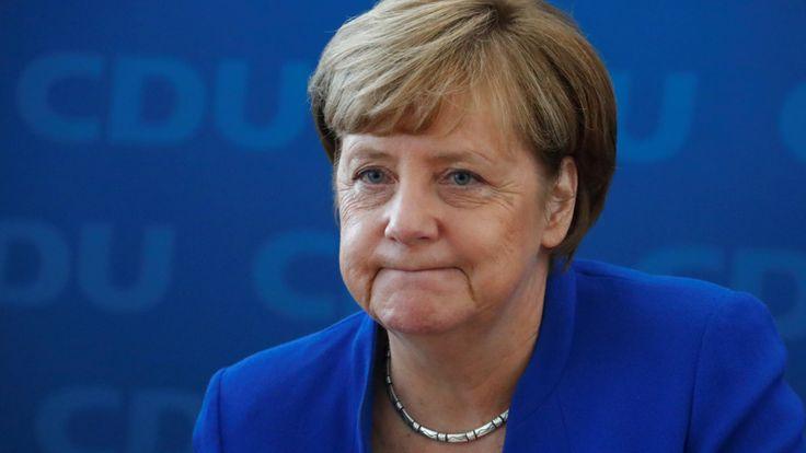 Nach Niedersachsen-Wahl: Angela Merkel (CDU) redet sich Schlappe schön - Politik Inland - Bild.de