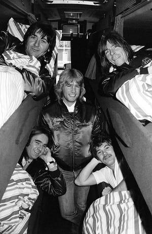 The Status Quo world tour bus in 1984