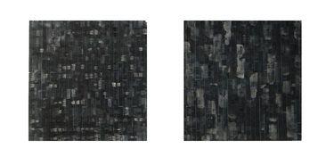 Alphabet - 11 - layered work:  Lithography by óscar  valero  sáez, drawing by emmanuelle renard