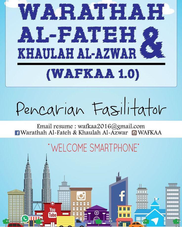 PENCARIAN FASILITATOR WAFKAA 1.0 (91023&24 Jan 2016