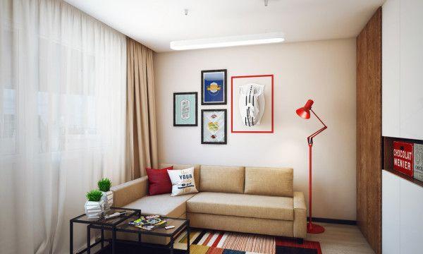Minimalistički dvosobni stan za mlade   Uređenje doma