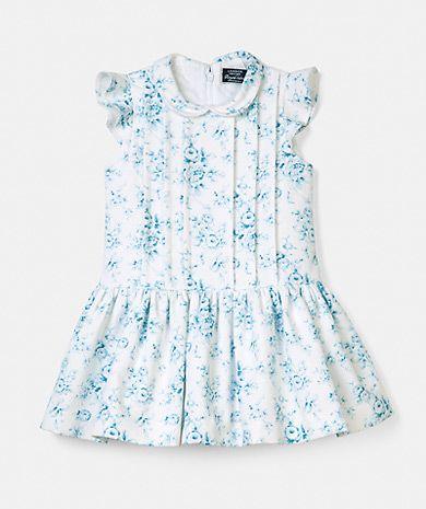 Vestido com estampado floral Royal Label - Made in Portugal Menina | LANIDOR.COM - Shop Online