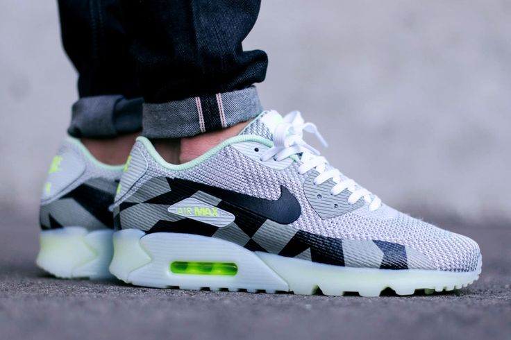 NIKE Air Max 90 Knit Jacquard Ice QS