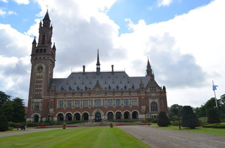 Peace Palace: International Court of Justice, Permanent Court of Arbitration, Peace Palace Library and The Hague Academy of International Law - Netherlands