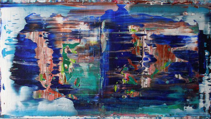 acrylic painting 100 cm x 70 cm nO.323