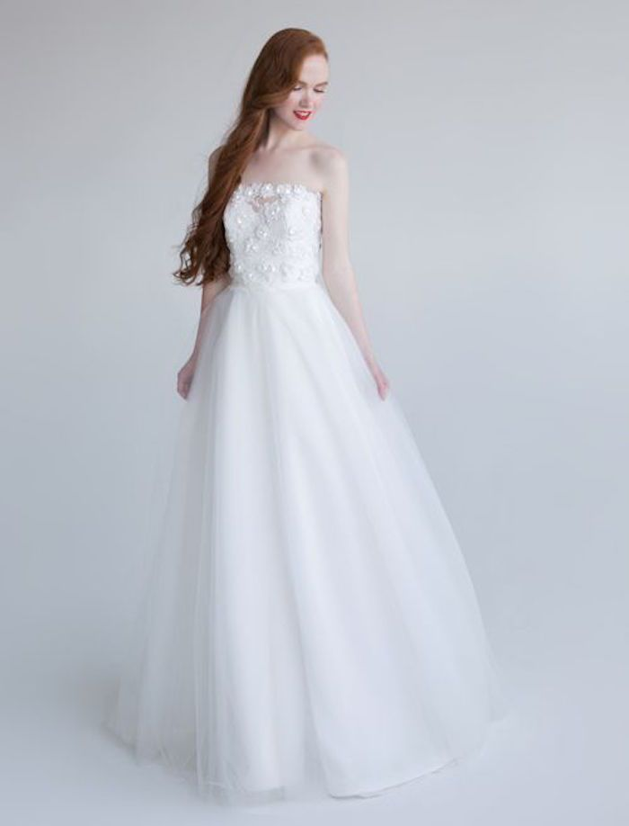 Aria wedding gowns 2016 Feminine Style | http://www.fabmood.com/aria-wedding-dresses-2016 #weddingdress #weddinggown