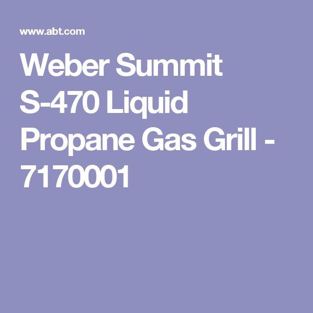 Weber Summit S-470 Liquid Propane Gas Grill - 7170001