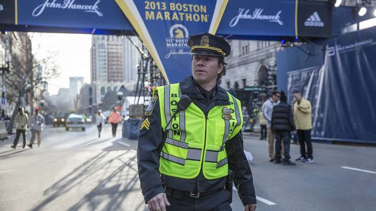"""'Patriots Day' (Jan. 13)  -   Mere months after the release of """"Deepwater Horizon,"""" director Peter Berg and actor Mark Wahlberg are teaming up for another movie inspired by a recent American tragedy. In this case, Wahlberg plays Boston police officer Tommy Saunders, a man who finds himself in the thick of the chaos following the 2013 Boston Marathon bombing. John Goodman plays Boston Police Commissioner Ed Davis, and J.K. Simmons, Kevin Bacon, and Michelle Monaghan also star."""