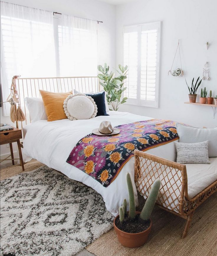 Relaxed, Boho-style in Orange County, California (my scandinavian ...