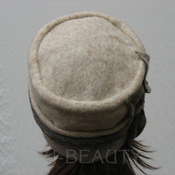Wool Hat Women Winter Hat for Women Gray Felt Wool hat Felted Winter Hats Beret Beanie Winter Wool Hat ladies Felt Hats Felt Wool Hat Lady – Beğendiğim modeller