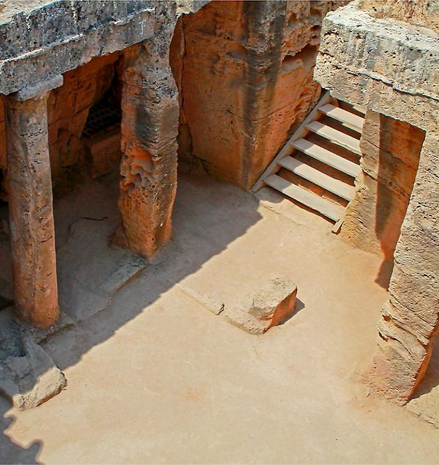 The Tombs of the Kings (UNESCO World Heritage Site) in Paphos, Cyprus | by Anja…