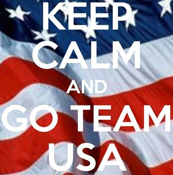 Keep calm and go team USA!   Favorite Athletes and Teams ...
