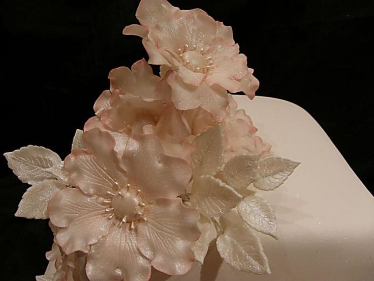 tutorial Лепка из сахарной мастики для тортов. Красивые цветы. Мастер-класс. Комментарии : LiveInternet - Российский Сервис Онлайн-Дневников