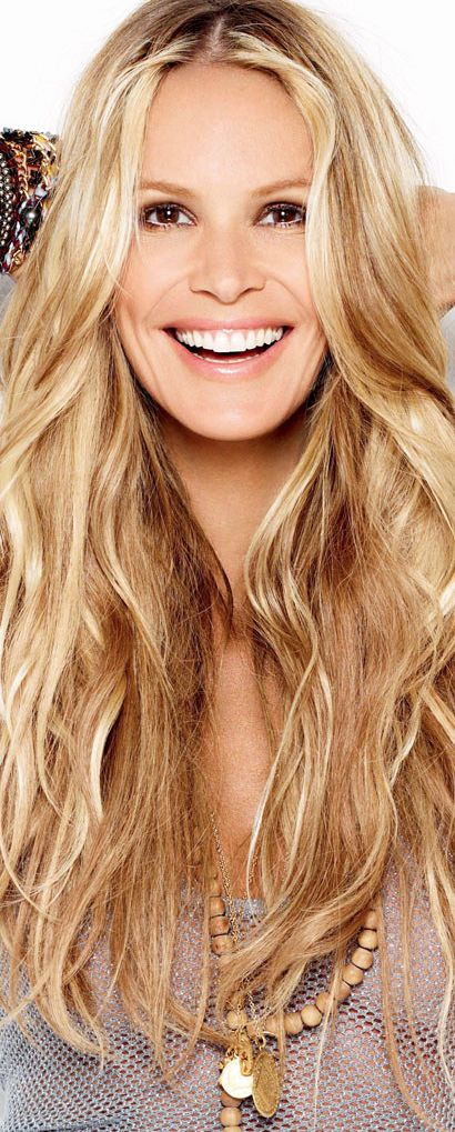 Elle McPherson, perhaps the most beautiful model ever. Opinion yes but none the less.
