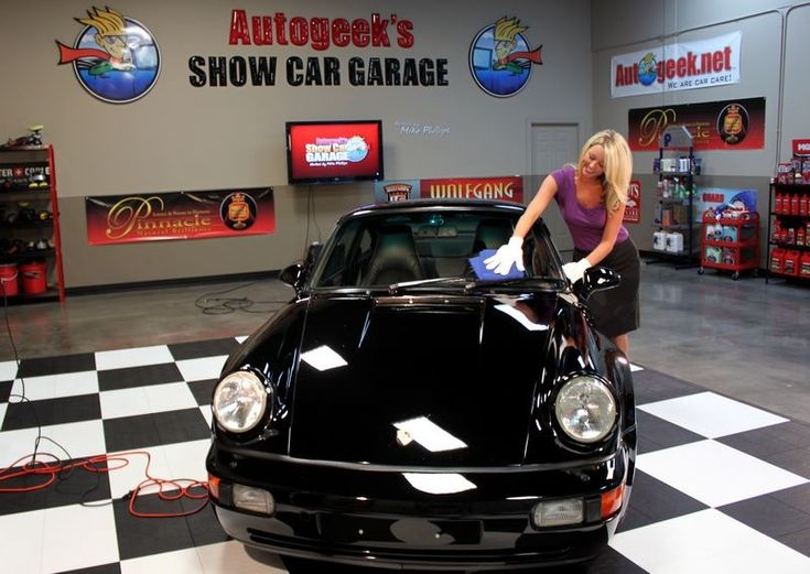 1994 Porsche Detailed for Operation Comfort Modeled by Brittany - ShowCarGarage