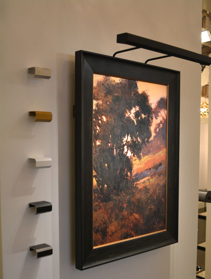 Éclairage au DEL pour vos plus beaux tableaux! LED picture lights for your artwork!