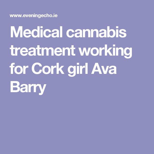 Medical cannabis treatment working for Cork girl Ava Barry