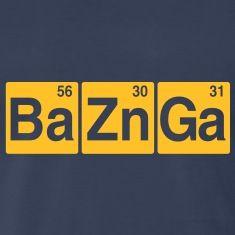 Ba56 Zn30 Ga31 T-Shirts
