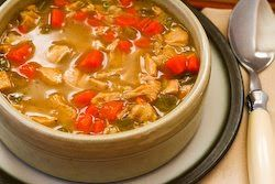 Kalyn's Kitchen®: Turkey Barley Soup Recipe