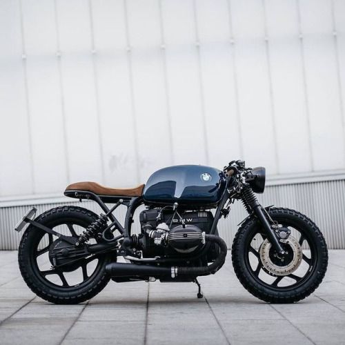 Very cool custom work by @roamotorcycles of Madrid on this BMW...